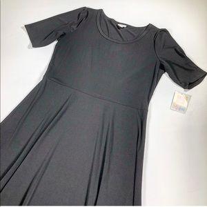 NWT LuLaRoe Black Ana Dress